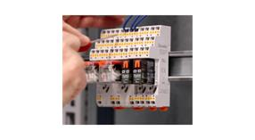 Spring sockets with push-in technology for HR industrial relays